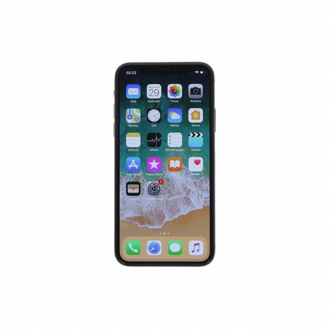 Apple iPhone X 256 GB spacegrau