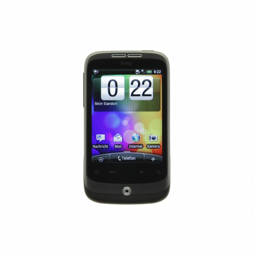 HTC Wildfire grau
