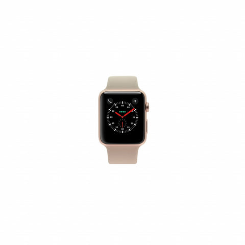 Apple Watch Sport 42mm mit Sportarmband sandrosa aluminium roségold