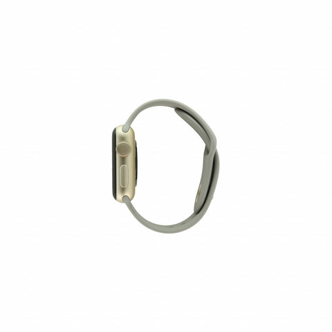 Apple Watch Series 2 Aluminiumgehäuse gold 38mm mit Sportarmband beton aluminium gold