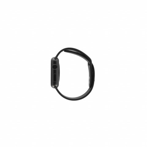 Apple Watch Series 3 Aluminiumgehäuse spacegrau 42mm mit Sportarmband schwarz (GPS) aluminium spacegrau