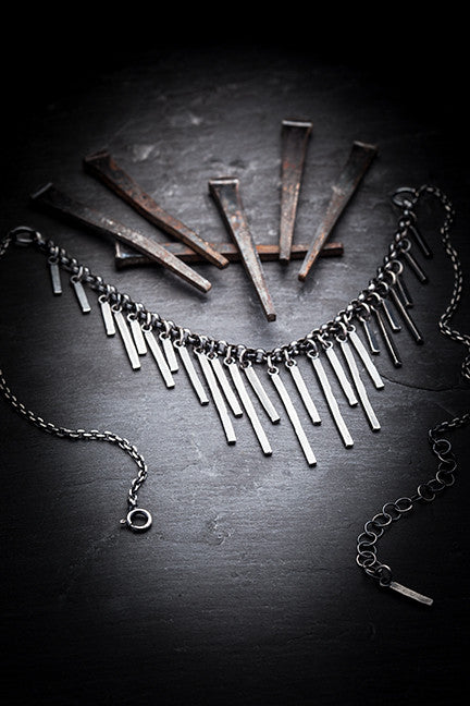 Prison Bars necklace