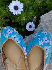 Carribbean Blue Shoes
