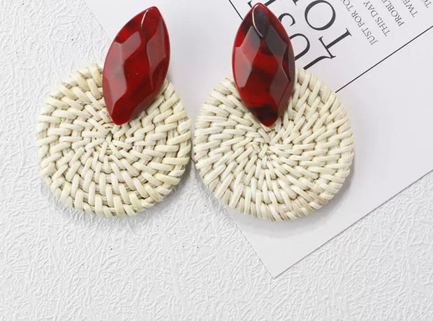Weave Earrings