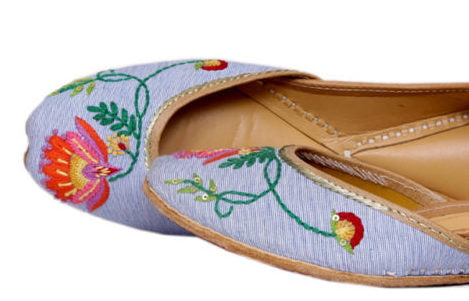 Flower Design Shoes