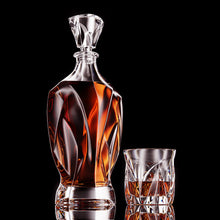 Load image into Gallery viewer, Aegis Decanter and Glass Set - Presale Offer FREE Set of 2 Glasses