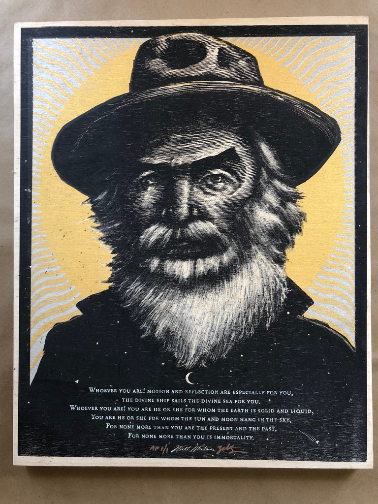 Walt Whitman - AP - WOOD