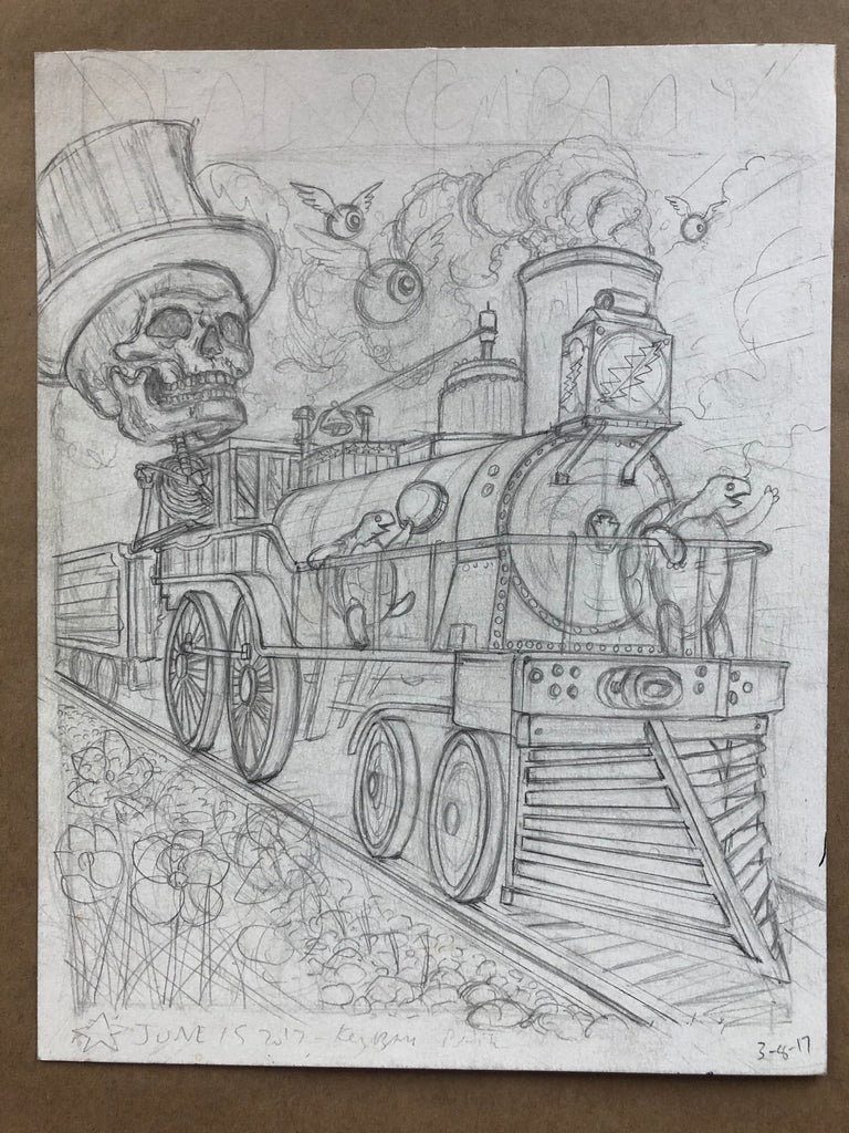 Dead & Company Burgettstown PA - Pencils