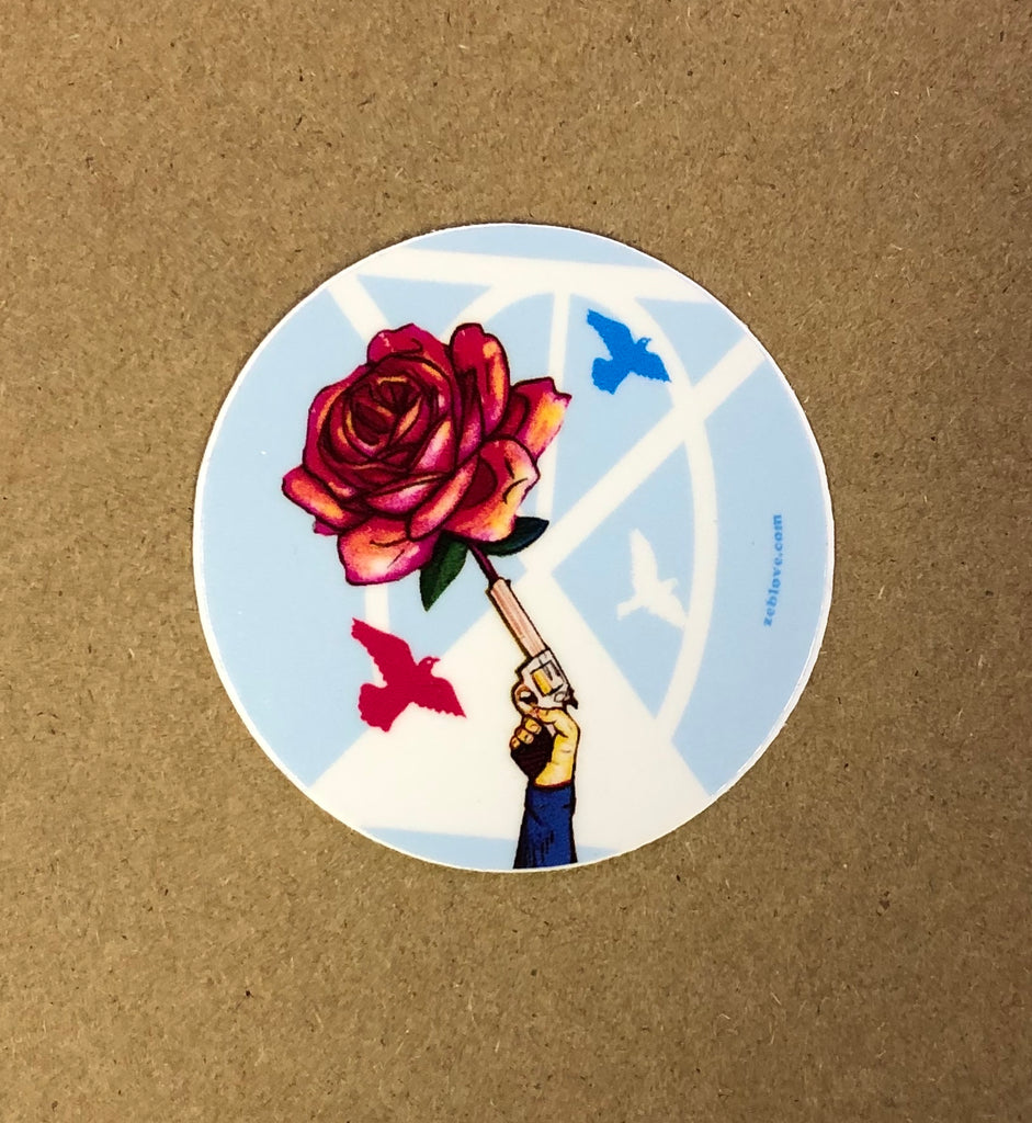 Vinyl Sticker - Rose