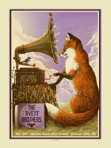 Avett Brothers - Purple Variant 2014