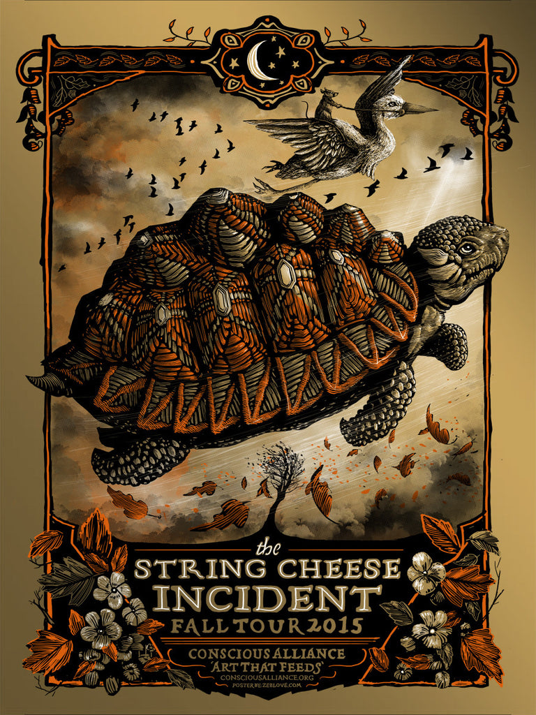 String Cheese Incident - Gold Foil - 2015