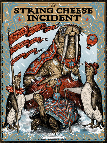 String Cheese Incident - Winter Tour