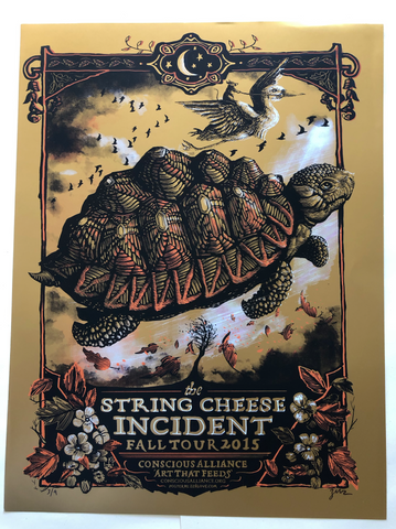 String Cheese Incident Gold Foil - Scratch & Dent