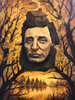Henry David Thoreau - Oil Painting