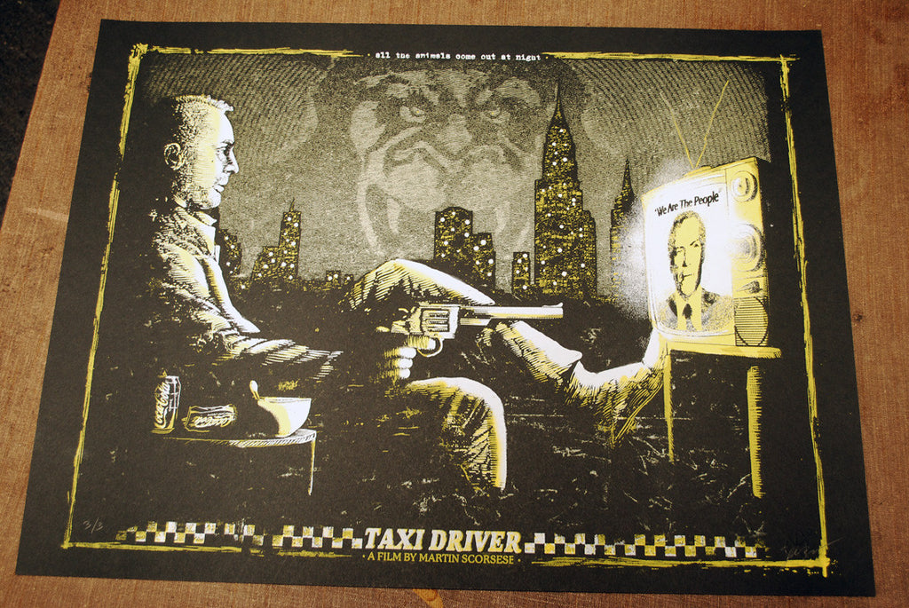 Taxi Driver 2013 - Gold Variant