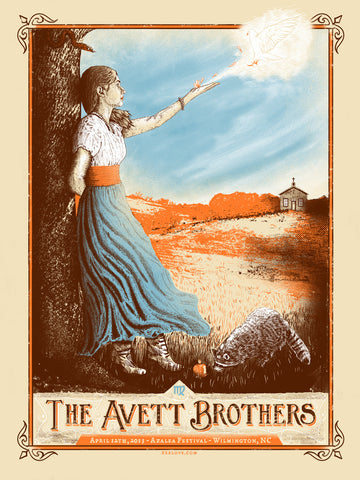 Avett Brothers - Wilmington 2013