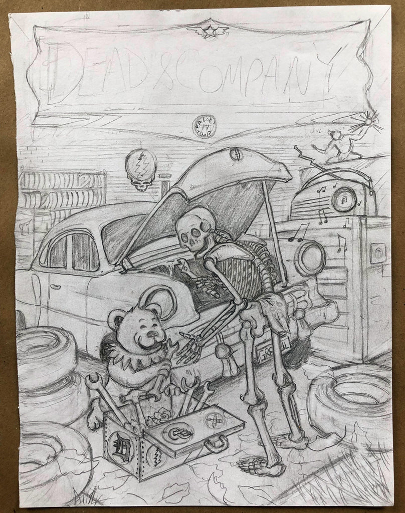 Dead & Company Detroit- OG Pencils
