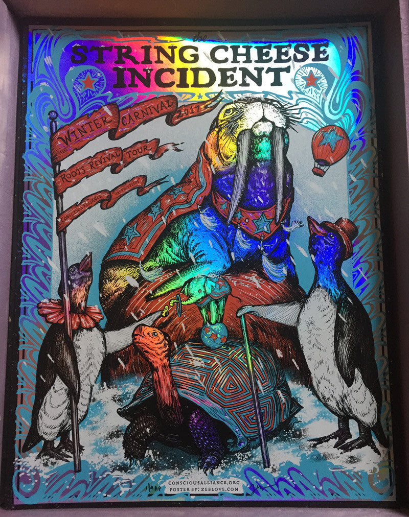 String Cheese Incident - Winter Tour/FOIL