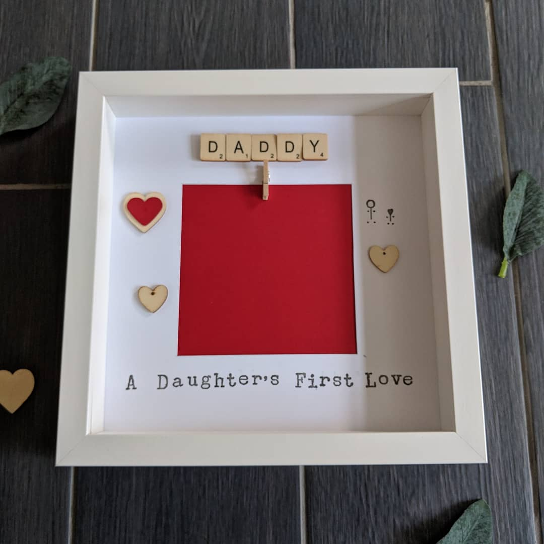 frame for daddy, a daughter's first love