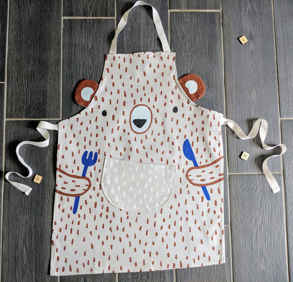 Baby Bear Children's Apron