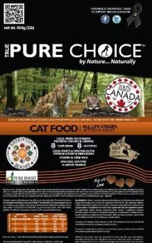 Cat to Kitten Food from True Pure Choice