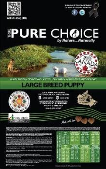 Large Breed Puppy Food from True Pure Choice