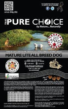 Load image into Gallery viewer, Mature Lite Dog Food from True Pure Choice
