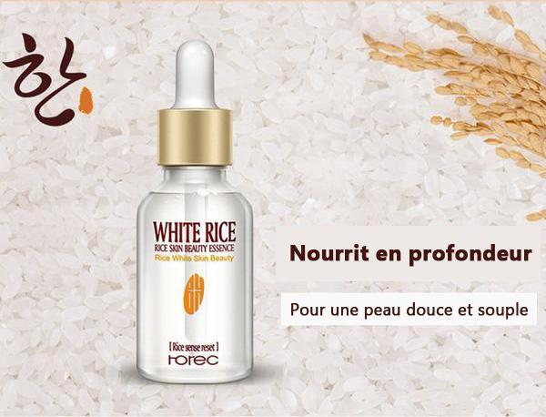 Sérum Naturel au Riz Blanc
