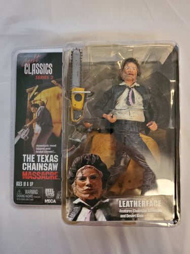 The Texas Chainsaw Massacre Cult Classics Series 2 Leatherface by NECA