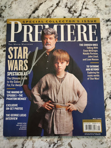 Premiere Magazine Star Wars Special Collections Issue Autographed by George Lucas