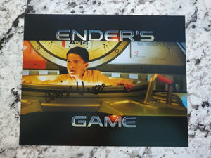 Ender's Game | Bean |  Autographed by Aramis Knight