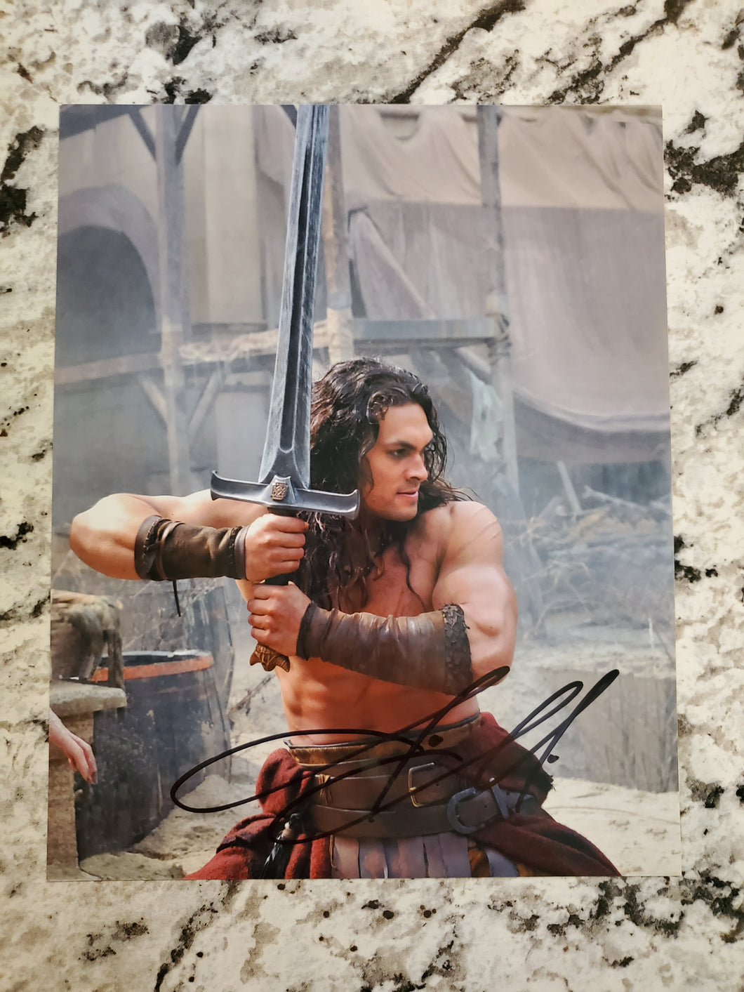 Conan the Barbarian | Conan | Autographed by Anthony Jason Momoa