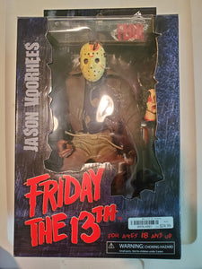 2007 Friday the 13th Jason Voorhees 10 inch Mezco Horror Action Figure