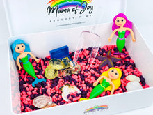 Load image into Gallery viewer, Mermaid Mini Sensory Bin