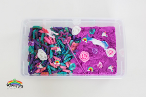 Unicorn Mini Sensory Bin