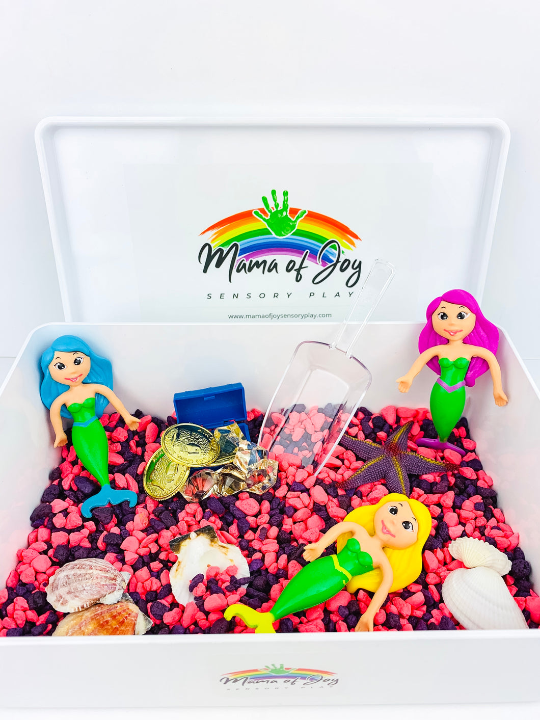 Mermaid Mini Sensory Bin
