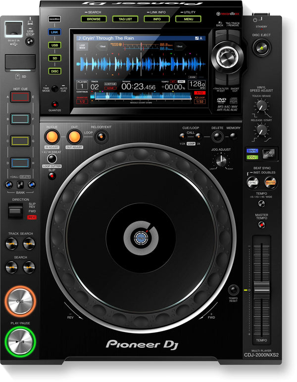 Pioneer Pro-DJ multi player with high-res audio support CDJ-2000NXS2