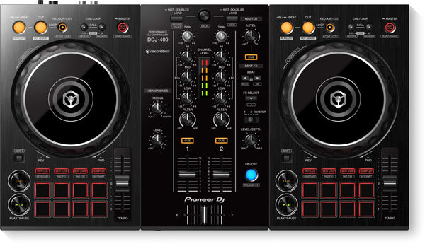 Pioneer 2-channel DJ controller for rekordbox dj DDJ-400