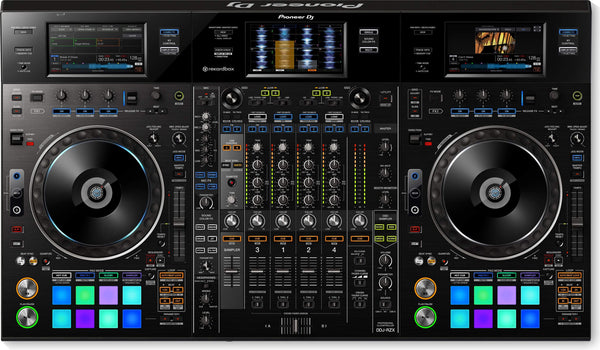 Pioneer Professional 4-channel controller for rekordbox dj & rekordbox video DDJ-RZX