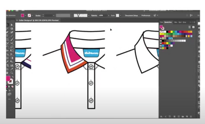 How to create a new collar design