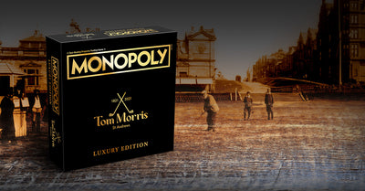 Old Tom Morris plays Monopoly