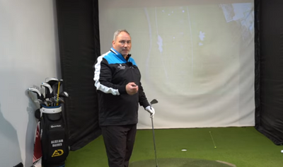 Alistair Davies - How To Keep Your Arms Straight In The Golf Swing