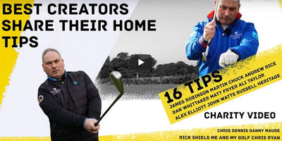 YouTube's Best Creators Share Their Best Home Golf Drills