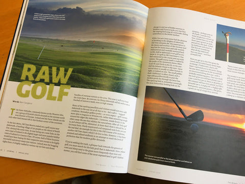 Upswing Golf Magazine - Golf Course Pages