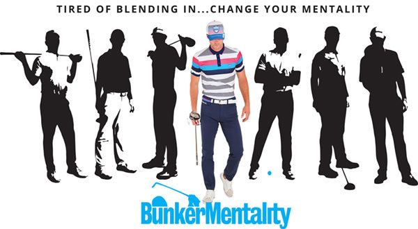 Bunker Mentality Stand Out From the Crowd Don't Blend In Colour