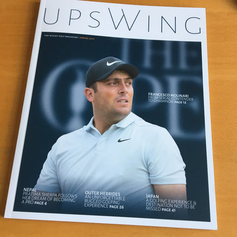 Upswing Golf Magazine - Front Cover Image