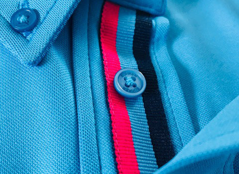 Bunker Mentality Frank Golf Shirt - Close Up Details