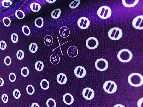 Bunker Mentality Spot Golf Shirt - Close Up Details
