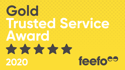 Feefo Golf Trusted Service Award