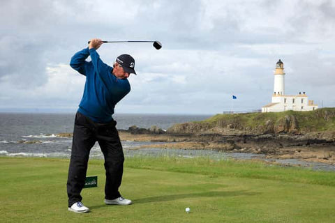 Fred Couples Golfer at Turnberry